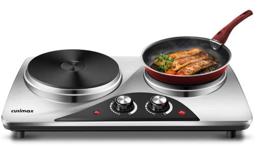 CUSIMAX Electric Double Hot Plate