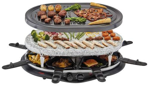 Cooks Professional Traditional Raclette Grill